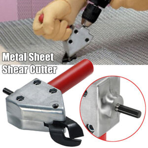 Stainless Steel Electric Clippers Metal Sheet Cutter Tile Cutting Scissors Be