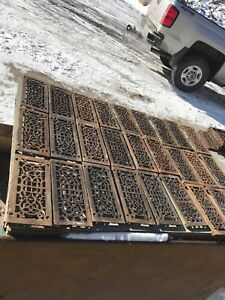 Rl 1 29 Avail Price Ea Antique Cast Iron Heat Grate Face 5 25 X 11 75