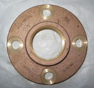 New Nipco 2 1 2 Pipe 7 Od Cast Copper Threaded Companion Pipe Flange 775