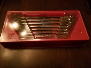 Snap On 7pc Sae 3 8 3 4 Combination Wrench Set
