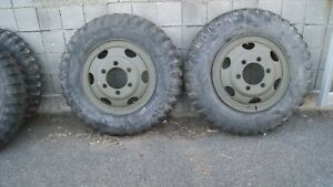 Deuce Truck Budd Wheel Split Rims 900 20 Tires And Rims
