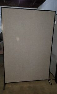 6ft Tall Free Standing Panels Cubicle Walls With Fabric