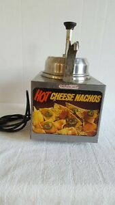 Server Dispenser Nacho Cheese Hot Fudge Butter Food Service Good Condition