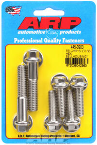 Arp For Chrysler Ss Hex Bellhousing Bolt Kit