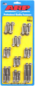 Arp For Tuned Port Complete Ss Hex Intake Manifold Bolt Kit
