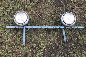 Vintage Antique Old School Headlight Assembly Gm Chevrolet Ford