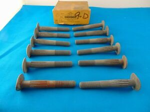 1918 1919 1920 Buick 1917 Reo 1923 Willys 1922 Chevrolet Trk Wheel Rim Bolts Nos