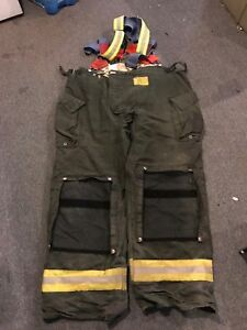 Morning Pride Gear Bunker Pants Turnout Pants Fdny Style Size 44x33