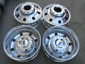 19 5 Ford F450 F550 Superduty Oem Factory Stock Wheels Rims Dually 10x225