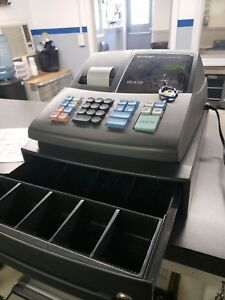 Sharp Electronic Cash Register Model Xe a106 Black With Key