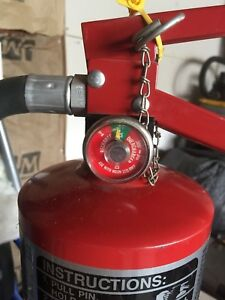 9lb Halon 1211 Fire Extinguisher Fully Charged Ansul Clean Agent