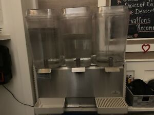 Grindmaster cecilware Crathco Bubbler Cold Beverage Dispenser D35 4 3 5 Gal
