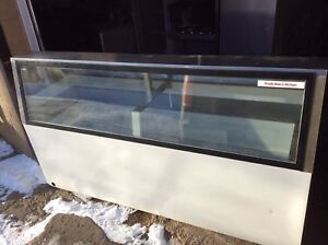 Masterbilt 16 Tub Ice Cream Dip Cabinet Lower Front Glass A Condition