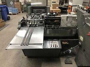 Rosback Bookletmaker 203r Stitcher And 250r Trimmer Willing To Sell Separat
