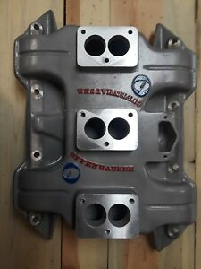 Vintage Offenhauser 440 3x2 Six Pack Aluminum Intake Manifold Chrysler Dodge