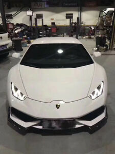 Huracan Lp610 Carborn Fiber Body Kit Front Lip Lamborghini