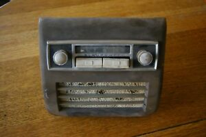 Rare Vintage Blaupunkt Radio For Porsche And Mercedes With Housing And Speaker