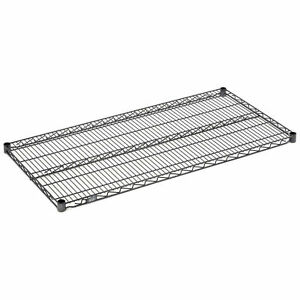 Nexelon Wire Shelving Add on Blue Epoxy 24 w X 14 d X 74 h Lot Of 1
