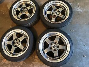 17 Ssr Professor Sp1 Staggered 5x114 With Brand New Falken Tires