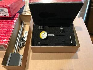 Starrett Dial Indicator With Magnetic Base Indicator 709bcz Base 657aa