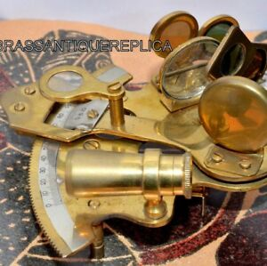 Brass Sextant 3 Antique Sextant German Sextant Sextant Solid Sextant