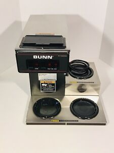 Bunn Vp17 3 Commercial Pourover Coffee Brewer With 3 Warmers New Filter Funnel