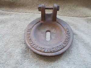 Vintage Hand Well Water Pump Part Cast Iron East Penn Foundary