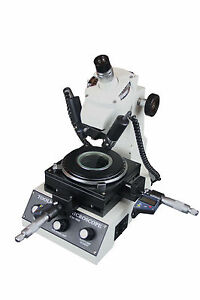 Toolmaker Angular Linear Measuring Microscope W Digital Micrometer 1um Inch mm