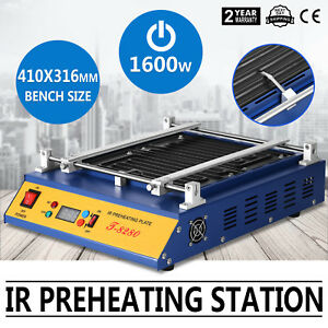 Ir Preheating Oven T8280 Rework Station Infrared Heat Warm Up Bga Smd Newest
