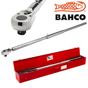 Mechanical Torque Wrench 1500nm 7455 1500 1in Click Bahco Snap On Tools New