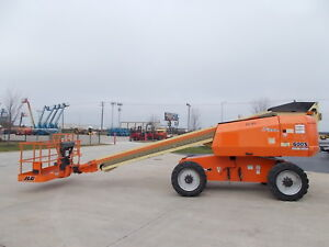 2011 Jlg 600s 4x4 60ft Telescopic Boom Lift Man Lift Aerial Lift Boom Manlift