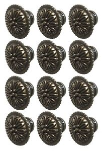 Decorative Brass Cabinet Knob Pull Set Of 12