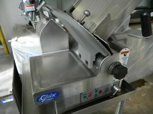 Globe Model 3850 Automatic 13 Heavy Duty Meat cheese Deli Slicer