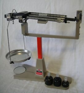 Vintage Ohaus 2610g Dec o gram Balance Scale Missing A Beam Weight