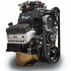 Edelbrock 46043 E force Rpm Supercharged Crate Engine Small Block Chevy 350 519