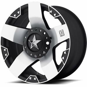 American Racing 77521287544 Xd775 Series Rockstar Truck Wheel Size 20 X 12 Bolt