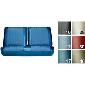 Pui 68as37b Bench Seat Cover 1968 Chevelle el Camino White