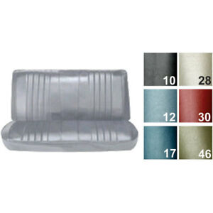 Pui 68as4d36b Straight Bench Seat Cover 1968 Chevelle Concours Estate malibu 4 d