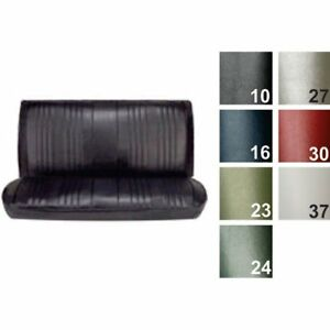 Pui 69as4d23b Straight Bench Seat Cover 1969 Chevelle Concours Estate malibu 4 d