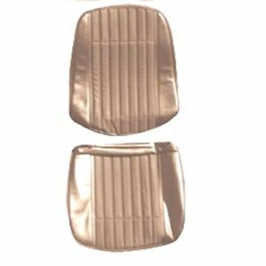 Pui 70gs41us Seat Cover 1970 Gto Lemans Standard Bucket Sandalwood