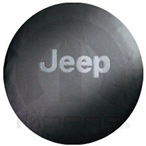 Mopar Accessories 82206929ac Spare Tire Cover 2002 07 Jeep Liberty Gray Jeep Log