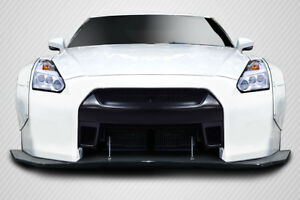 Carbon Creations Lbw Front Splitter For 2009 2016 Nissan Gt R R35
