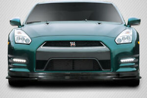 Carbon Creations Hk Front Lip Spoiler For 2012 2016 Nissan Gt R R35