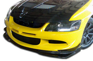 Carbon Creations Vr s Front Lip Air Dam For 03 05 Mitsubishi Lancer Evo 8