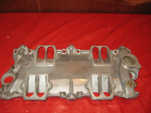 1960 1961 1962 Corvette Baseplate Rochester Fuel Injection Modified See Photos
