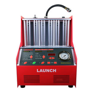 Original Launch Automotive Cnc602a Ultrasonic Fuel Injector Cleaner Tester 110v