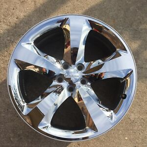 20 Inch Dodge Challenger Charger 2011 204 Chrome Clad Wheel Oem Rim 2411 2424