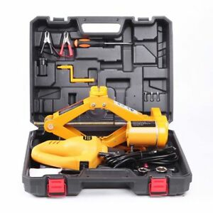 2 Ton Lifting Car Electric Jack Car Air Pump Wrench Auto Multi function Tools