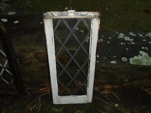 Leaded Glass Window Vintage Stained