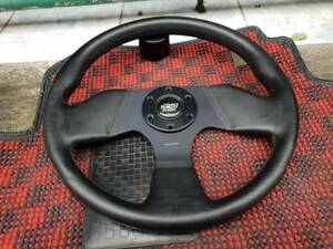 Rare Mint Condition Mugen Sw3 Steering Wheel With Mugen Horn Ring Ef9 Crx Eg